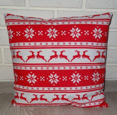 poszewka na poduszkę 40x40 cm świąteczna Boże narodzenie