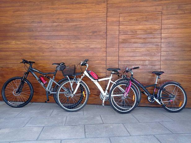 3 Bicicletas como novas