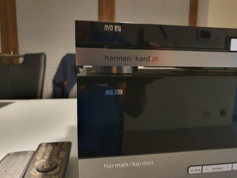 Amplituner Harman Kardon AVR 132 + DVD 27 Suwałki - image 1