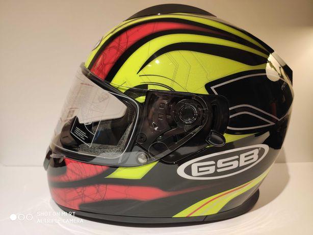 Capacete GSB S-350 integral scooter mota novo