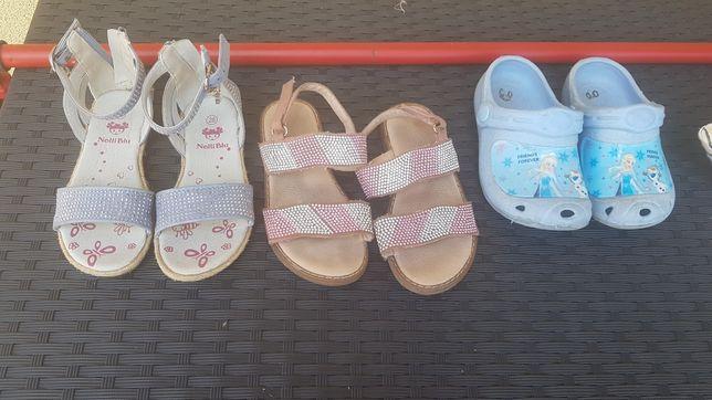 Sandałki 28 dla dziewczynki