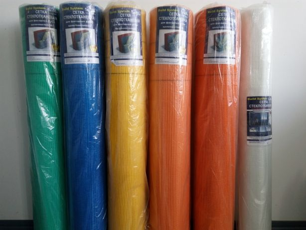Фасадная сетка штукатурная 100-145-160 г/м2 доставка из Днепра