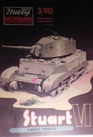 mały modelarz 3/90 STUART VI