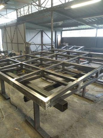 Металлические конструкции, изделия. Изготовление металлоконструкций.