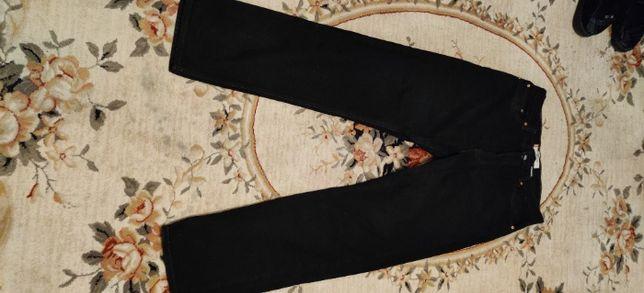 spodnie jeans czarne Levis 505 zamek stan bardzo dobry