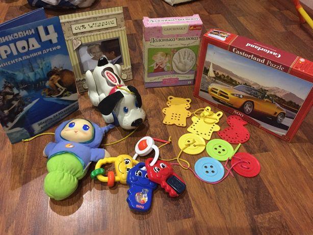 Развивающие лото деревянное и другие игрушки