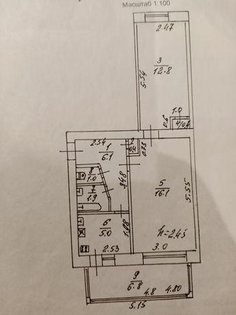 Продам 2х комнатную квартиру в раене Стадиона
