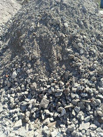Gruz betonowy mielony