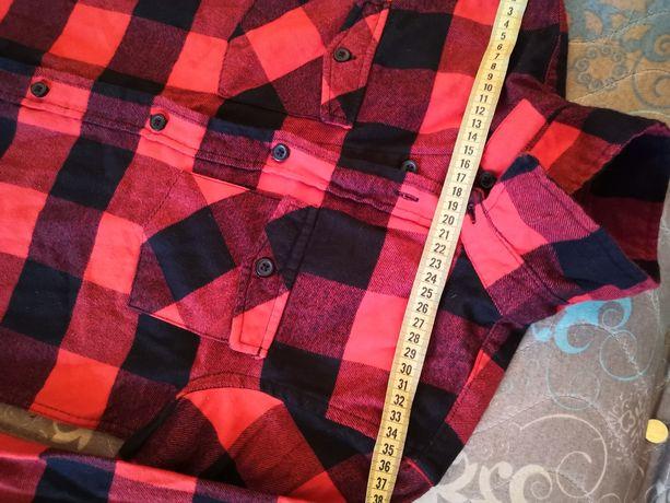 Рубашка в клетку на мальчика НМ 100% cotton
