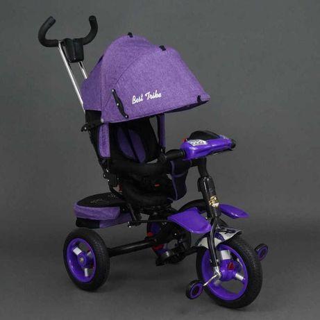 Детский велосипед-коляска best trike 6596