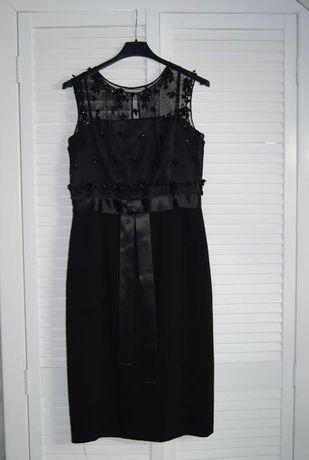 Elegancka sukienka jak nowa firmy LEAGEL roz 38/ M
