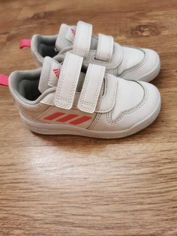 Adidasy Adidas biało różowe