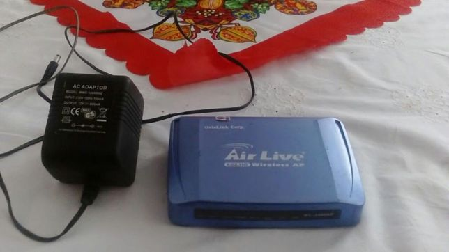 Router AirLive WL-5460AP v2 + antena