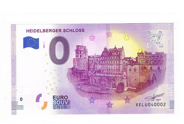 0 Euro Heidelberger Schloss Niemcy 2020-1