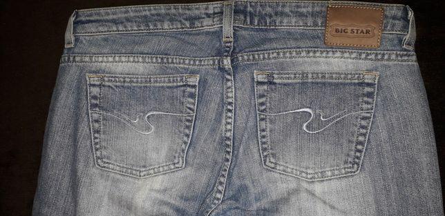 Spodnie Big star 30 34 s m stan IDEALNY jeans Blue