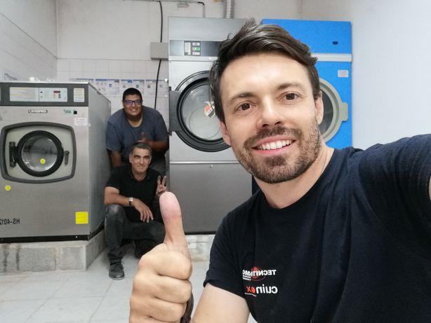 Máquina de secar roupa industrial ocasião / Secador de roupa industria