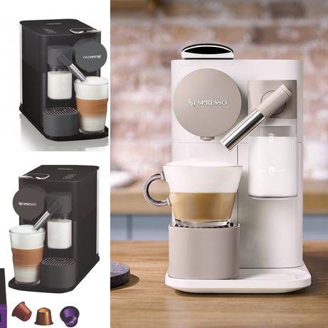 Кофемашина Nespresso Latissima one .Колір білий та чорний