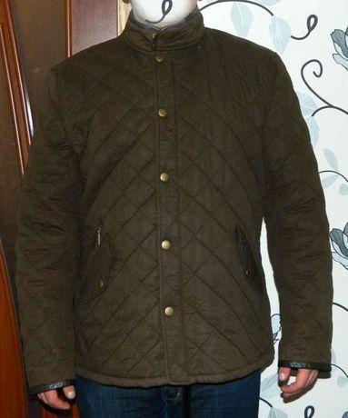 Мужская стеганая куртка barbour chelsea polarquilt(belstaff)