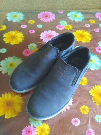 Мокасіни туфлі з замші