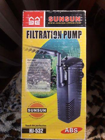 Фильтр насос для аквариума
