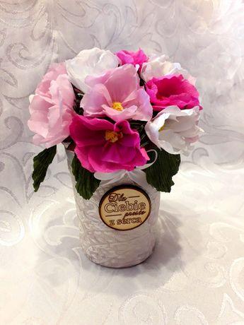 Flowerbox urodziny imieniny ślub Dzień Matki