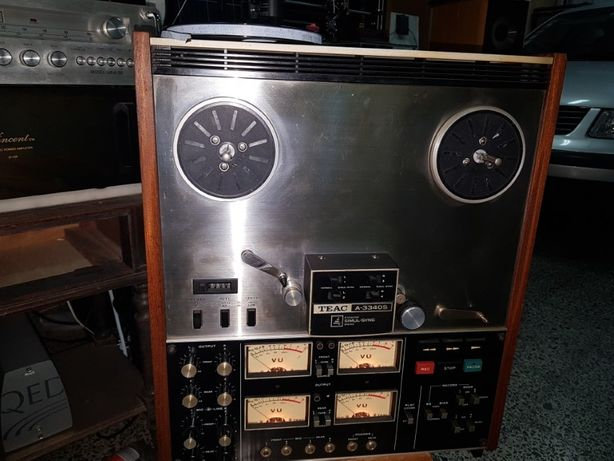 Teac A 3340S Reel To Reel