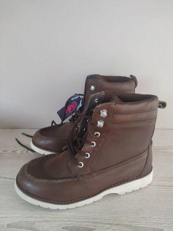 Новые кожаные ботинки Buffalo
