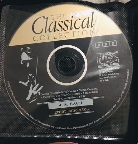 J. S. Bach The classical collection (CD)