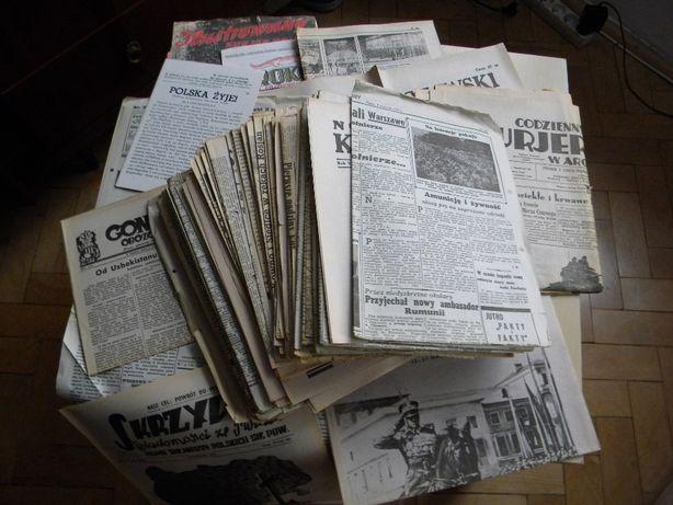 Reprinty gazet z II Wojny Światowej z serii Gazety Wojenne (Całość)