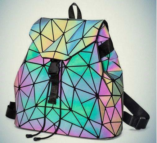 Рюкзак сумка Бао Бао хамелеон люминисцентный