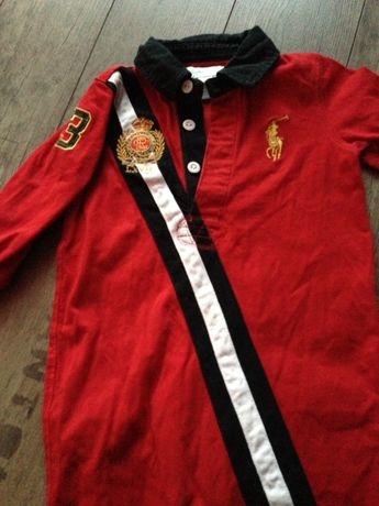 Body czerwone Ralph Lauren