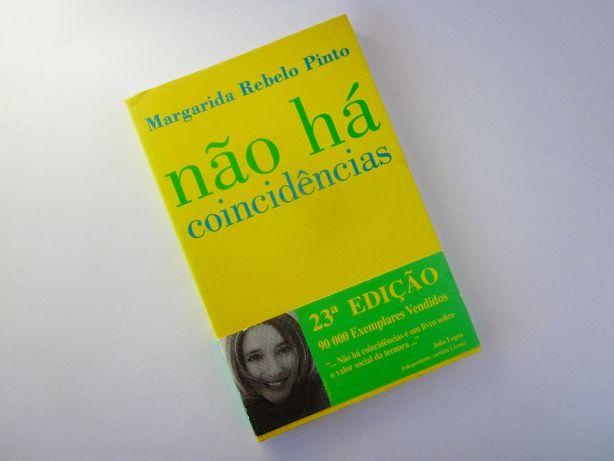 """Livro """"Não há coincidências"""" - Margarida Rebelo Pinto"""