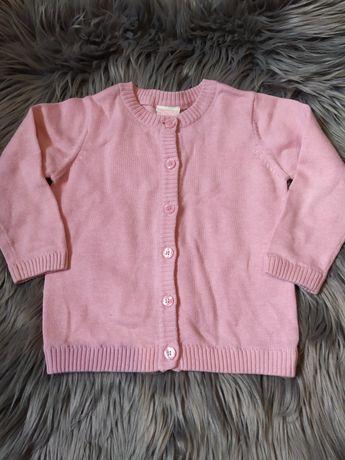 Sweterek dziewczęcy rozmiar 86