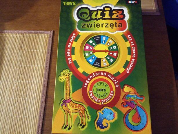Gra edukacyjna Quiz zwierzęta + prezent