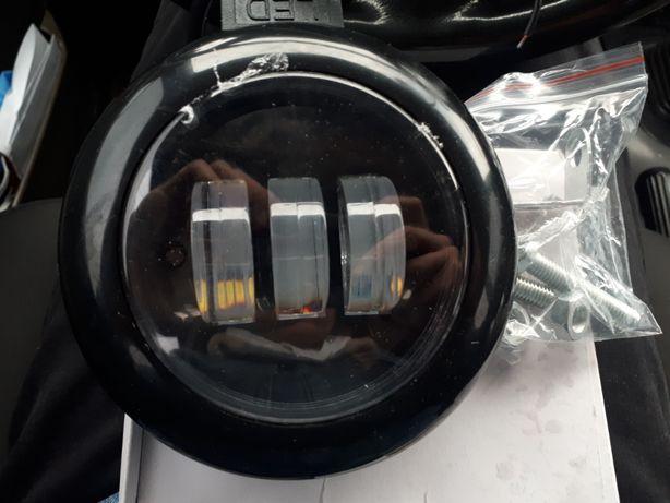 LED/ЛЕД фары, противотуманки, балка, Прожектор