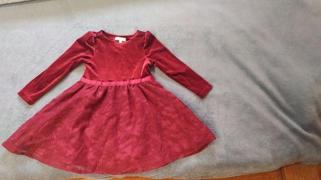 2 Sukienki+kombinezon dla dziewczynki