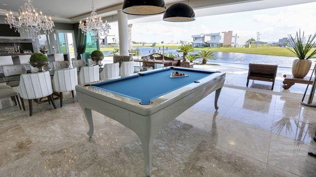 BilharesEuropa Fabricante Mod Cascais o Luxo em sua casa ..