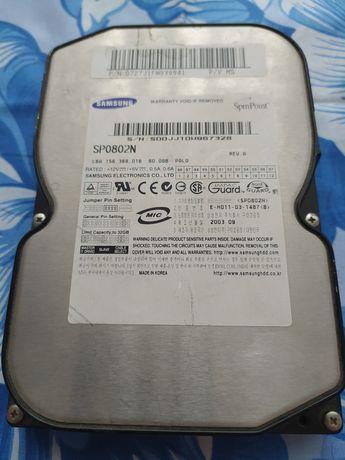 Жесткий диск Samsung SP0802N, IDE