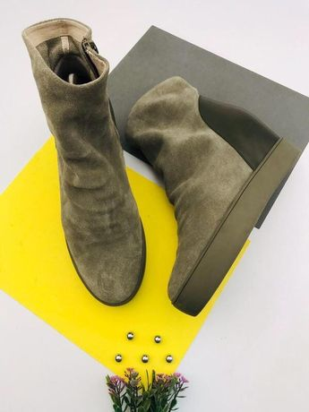 Замшевые ботинки сникерсы shoe the baer