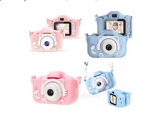Детский цифровой фотоаппарат 2 камеры Children's fun Camera 20MP Full