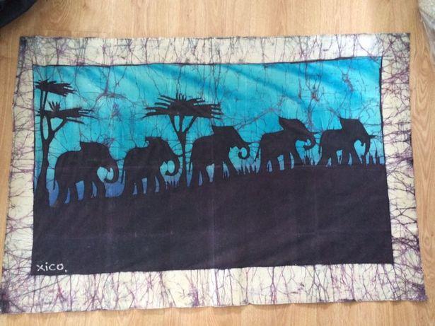 Tela de Moçambique 110cm x 70cm