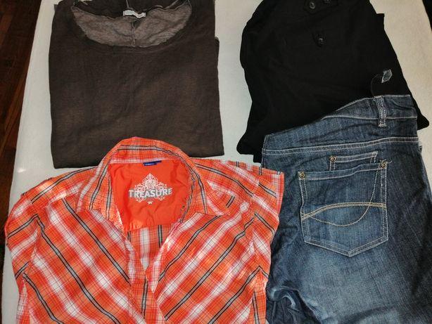 Koszulki i spodnie ciążowe XL