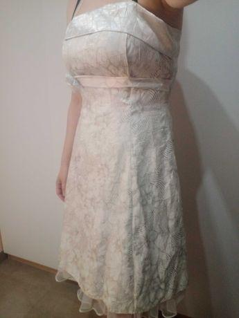 Sukienka na slub cywilny r. L