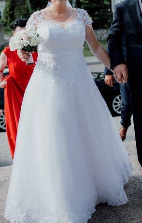 Suknia ślubna. Piekna