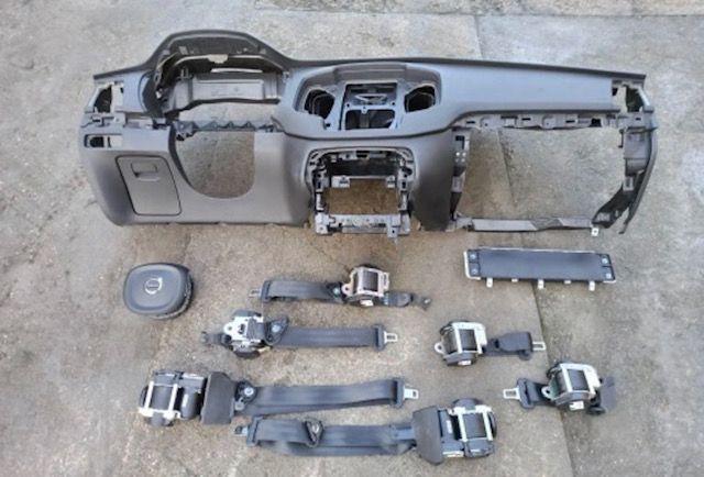 Volvo xc90 airbags cintos tablier