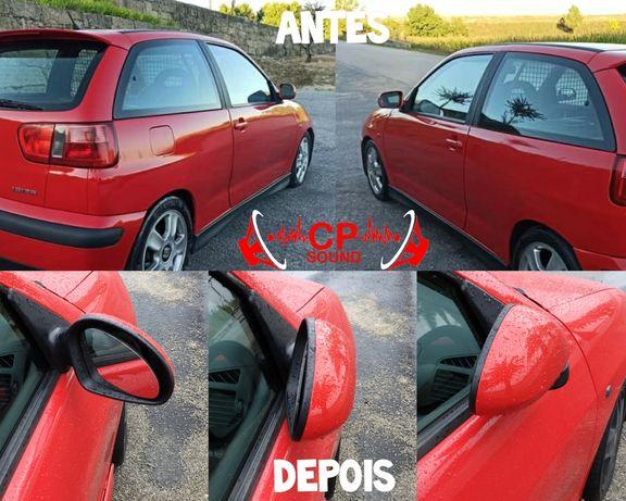 Adaptação e Montagem de Espelhos Retrovisores em Seat ibiza 6k2 6k3