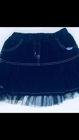 Итальянская новая джинсовая юбка размер 10 лет