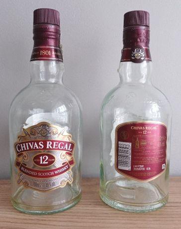 Butelki Po Szkockiej Whisky 0,7 Litra Chivas Regal 12