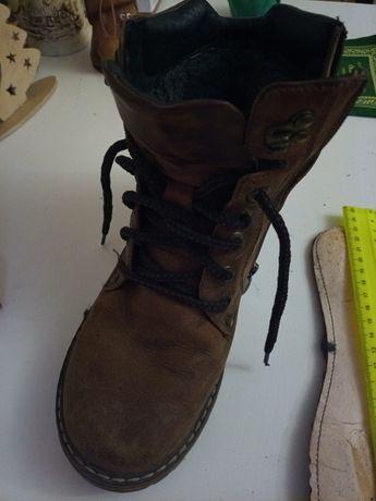 Кожаные ботинки МИДа