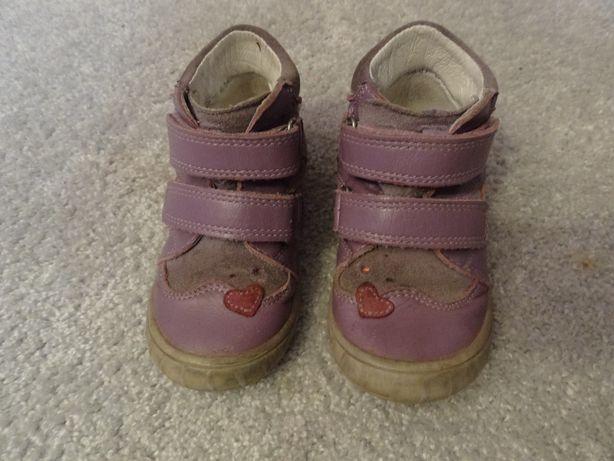 Buty trzewiki skórzane jesienne firmy Bartek rozmiar 23
